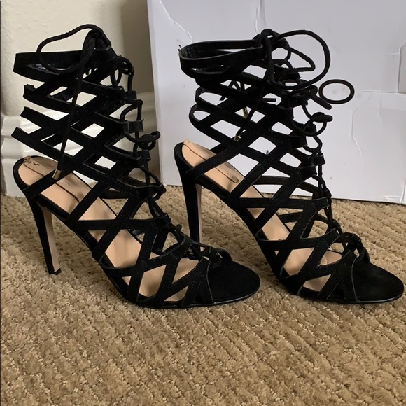 Aldo Shoes - Aldo brand lace up heels